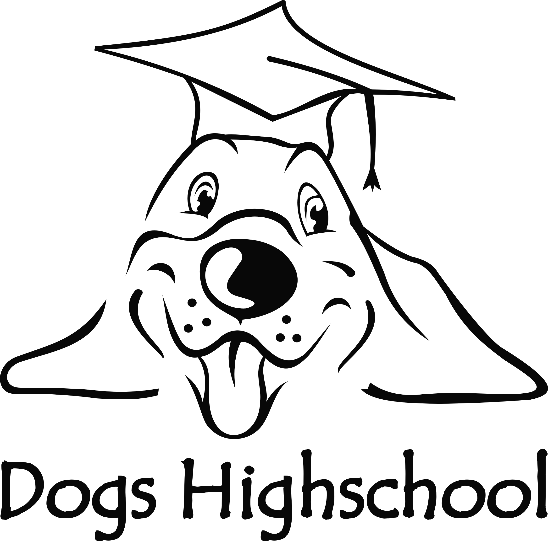 logo hondenschool Dogs Highschool